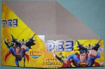 DC Comic Justice League Pez Counter Display 12 ct Box