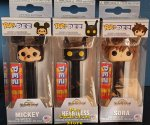 Disney Kingdom Hearts - Sora, Mickey & Heartless POP!+PEZ Bundle