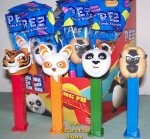 Kung Fu Panda Pez DreamWorks Set of 4 MIB