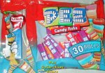 Crystal USA Heart Laydown Bag 30 rolls Pez Candy