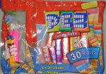 Clear Crystal Hippo Kooky Zoo Laydown Bag 30 rolls Pez Candy