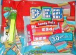 Crazy Animals Frog Laydown Bag 30 rolls Pez Candy