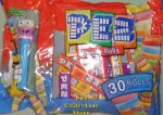 Crazy Animals Octopus Laydown Bag 30 rolls Pez Candy