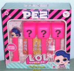 LOL Surprise 4 piece Pez Mystery Box Set