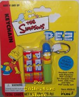 Retired Marge Simpson Pez Keychain MOC