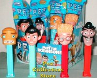 Meet the Robinsons Set of 4 Pez MIB
