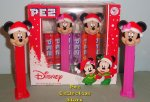 2020 Mickey and Minnie Holiday Pez Twin Pack
