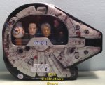 Millennium Falcon Pez Tin with BB8, Rey, Han Solo and Chewbacca