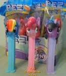 My Little Pony Glitter Twilight Rainbow Pinkie Set of 3 Pez MIB