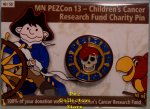 2008 MN PEZCon 13 Children's Cancer Research Fund Charity Pin
