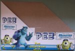 Monsters University Pez Counter Display 12 count Box