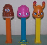 Moshi Monster Furi, Poppet and Katsuma European Pez Set