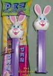 2018 Mr Bunny on Purple Stem Easter Pez MIB
