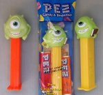 Monsters University Pez Mike Wazowski with Book MIB