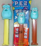 Monsters University Pez small head Sully MIB