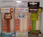 Mythical Bundle - Bigfoot, Snowy Bigfoot, Cthulhu POP!+PEZ