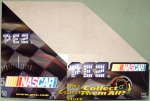 Nascar Helmets Pez Counter Display 12 count Box
