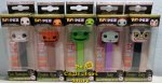 Nightmare Before Christmas Funko Set of 5 POP!+PEZ Bundle