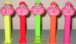 Neon Bubbleman Pez Set of 5 Pez Offer 18