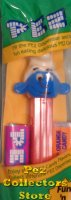 NF Smurf A Pez with Tongue on Red 3.9 Austria Stem MIB