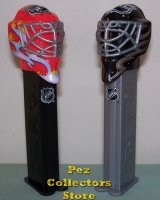 Limited Edition Canadian NHL Fire and Ice Hockey Helmets Pez