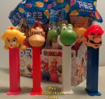 Nintendo Super Mario Brothers Pez Set of 4 MIB