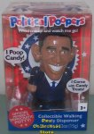 Barack Obama Political Pooper Wind Up Walking Candy Dispenser
