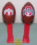 2012 Outlined Ohio State NCAA Football Pez Loose
