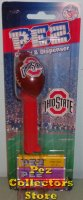 2017 Solid Lettering Ohio State NCAA Football Pez MOC