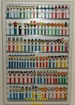 Customizable Pez Wall Display - Six Shelf Adjustable