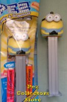 Otto Chubby Two Eye Minion from the Rise of Gru Pez MIB
