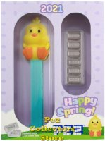 PAMP Suisse Easter Chick PEZ 30gm Silver Candies in Box w COA