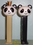 2020 Limited Edition Panda Pez Pair Loose