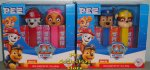 Paw Patrol Pez Twin Packs with Skye/Marshall and Chase/Rubble