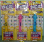 Peeps Pez Set of 3 - Yellow, Blue and Pink MOC