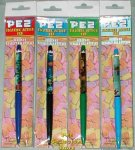 Pez Floaty Pens -by Eskesen - Set of 4 Series I - MIP!