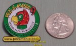 1999 Pezamania 9 Pez Annual Pezhead Migration Green Lapel Pin
