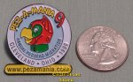 1999 Pezamania 9 Pez Annual Pezhead Migration White Lapel Pin