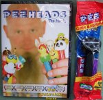 PezHeads the Movie DVD and Dispenser