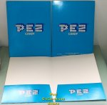 PEZ Pocket Folder Logo Printed Front, Back and Inside