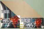 Star Wars Phantom Menace 2012 Pez Counter Display 12 count Box