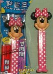 Disney Junior Minnie Mouse Pez - Pink with White Polka-dots MIB
