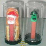 Plastic Display Cylinder For Cello or Vintage NF Pez!