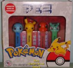 Pokemon Pez Gift Set Pikachu, Bulbasaur, Charmander & Squirtle