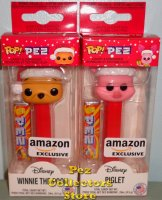 Disney Holiday Winnie the Pooh and Piglet Exclusive POP!+PEZ