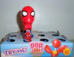 Spiderman Pop Ups with Chupa Chups Lollipop