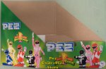 Mighty Morphin Power Rangers Pez Counter Display 12 ct Box