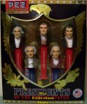 Boxed Set USA Presidential Pez Series Volume 1 - 1789 to 1825