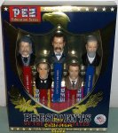 Boxed Set USA Presidential Pez Series Volume 5 - 1881 to 1909