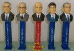 Boxed Set USA Presidential Pez Series Volume 7 - 1933 to 1969